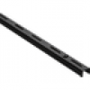 Element System Single-Wandschiene, schwarz, 14,5 cm