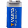 "Varta Batterie ""High Energy"" 9 V E-Block Alkaline"