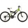 "KS Cycling Kinderfahrrad MTB Fully 24"" Zodiac RH 38 cm"