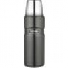 Thermos Isolierflasche Stainless King Edelstahl Cool Grey 0,47l