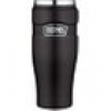 Thermos Isolierbecher Stainless King Edelstahl Schwarz 0,47l