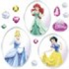 Komar Windowsticker Princess Disney 31 x 31 cm