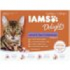 Iams Delights Katzennassfutter Land & See Collection in Gelee 12 x 85 g