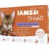 Iams Delights Katzennassfutter Land & See Collection in Sauce 12 x 85 g