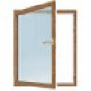 Meeth Fenster, 1050 x 800 mm, DIN links System 70/3S Euronorm, 1-flg Dreh-Kipp, golden Oak/G-O