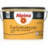 Alpina Farbrezepte Kräftiges Orange 2,5 l, happy weekend, Innenfarbe matt