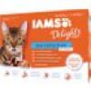 Iams Delights Katzennassfutter See Collection in Sauce 12 x 85 g